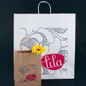 sac en papier réutilisable